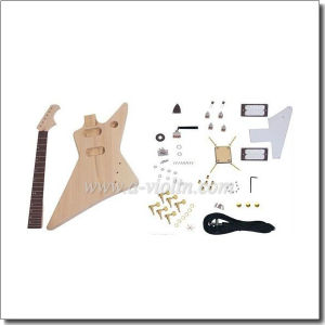 Unfinished Flying V Style DIY Electric Guitar Kits (EGH602-W) pictures & photos
