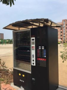 Double Cabinet Coffee Vending Machine C4 pictures & photos
