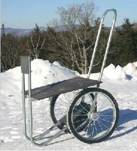 Practical Firewood Cart Double pictures & photos