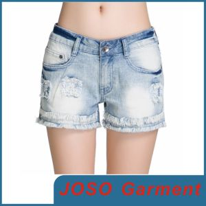 Summer Women Denim Shorts (JC6005) pictures & photos