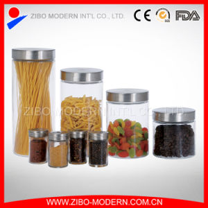 Cheap Custom Wholesale Glass Jar Supplier, Wholesale Glass Spice Jar Factory pictures & photos