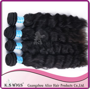 100% Indian Virgin Human Hair Natural Wavetop Quality pictures & photos
