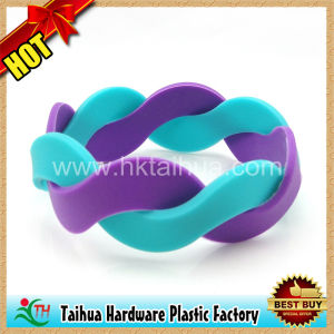 New Arrivals Silicon Wristbands for Promotion Gift (TH-06798) pictures & photos