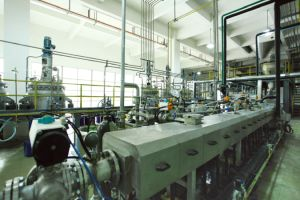 Hot Sale Slg-75 Twin-Screw 107 Silicone Rubber Automatic Production Line pictures & photos