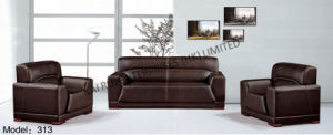 PVC Brown Modern Popular Office Furniture Sofa pictures & photos