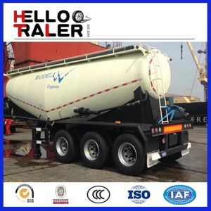 3 Axles 40m3 Bulk Cement Transport Truck with Compressor pictures & photos