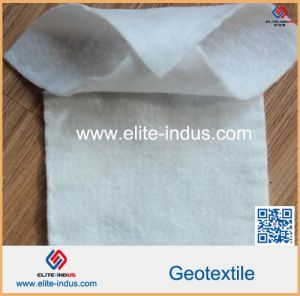 Needle Punched Noneoven PP Geotextile in Erosion Control Measures pictures & photos