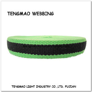 50mm Green Jacquard Polyester Webbing for Textile pictures & photos