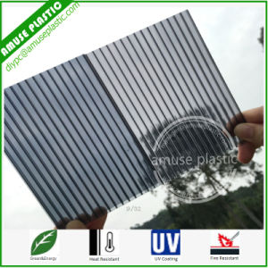 Grey Plastic Construction Material Price List Polycarbonate Hollow Roofing Sheets pictures & photos