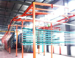 Powder Coating Production Line for Aluminium Profile pictures & photos
