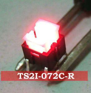 SGS Illuminated Tact Dust-Proof PCB Spst Miniture Electronic Waterproof Illuminated Switch