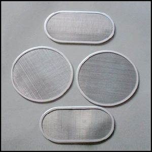 2 5 50 100 150 300 Microns Porous 304 316L Ss Stainless Steel Wire Sintered Mesh Filter Disc pictures & photos