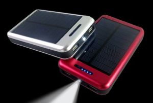 10000mAh Battery Solar Charger for iPad and Smart Phones