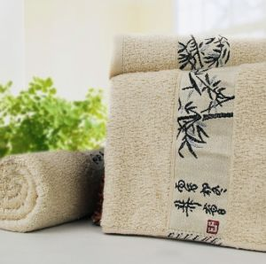 Chinese Style 100% Bamboo Bath Towel 70*140cm pictures & photos