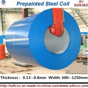 Color Coated Galvanized Steel Coil / PPGI (0.13---0.8mm) pictures & photos