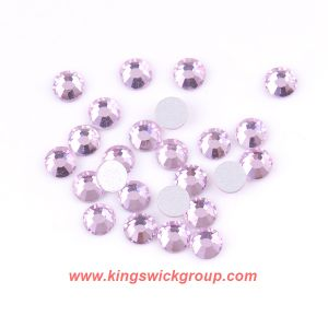 Light Rose 10 Gross Small Size Ss3 Flatback Non Hotfix Nail Rhinestones pictures & photos
