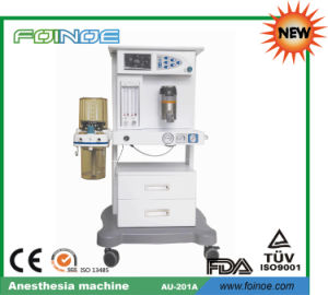 Au-201A Hot Selling CE Approved Anesthesia Machine pictures & photos