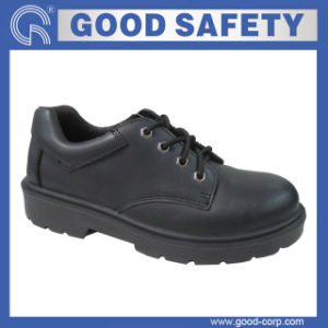 Smooth Leather Safety Shoe (GSI-768)