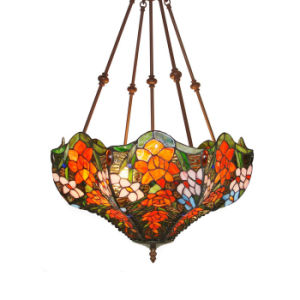 Popular Stained Glass Pendant Lamp (TP18010)