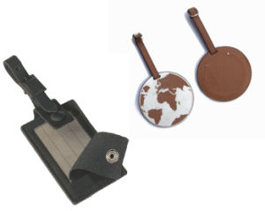 Leather Luggage Tags for Customized Gifts pictures & photos