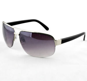 Fashion Quality Promotion Metal Elegant Sunglasses for Men (14246)