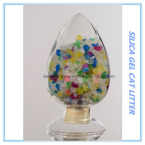 Crystal Cat Litter/Silica Gel Cat Litter pictures & photos