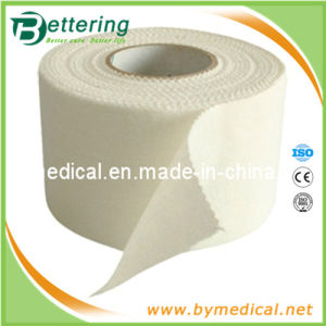 White Cotton Fabric Adhesive Sports Strapping Tape pictures & photos