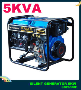 Professional Manufacturer of Diesel Generator Air Cooled Open Frame 5kw pictures & photos