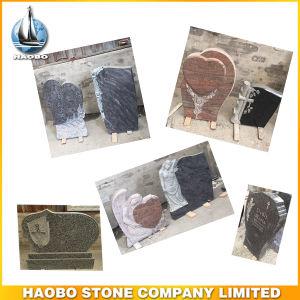 Custom Design Headstone Memorial Gravestone Wholesale pictures & photos