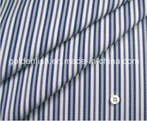 Dobby Pure Cotton Stripe Fabric for Men Business Shirt