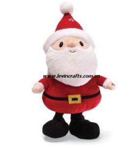 Stuffed Plush Santa Claus Toys for Christmas