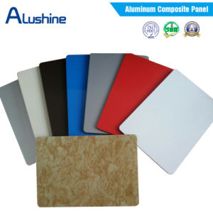 White UV Print Sign Board Billboard Material Aluminum Composite Panel Dibond (3mm 6mm) pictures & photos