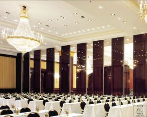 2017 Hotel Ballroom Banquet Hall Wooden Operable Partition Wall pictures & photos