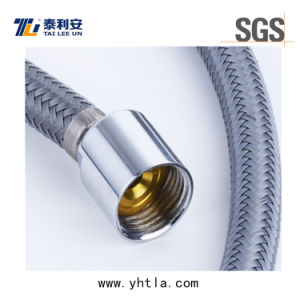 Grey Nylon Wire Braided Flexible Hose for Toilet Connection (L1004-B) pictures & photos