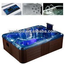 Massage Outdoor SPA with Balboa Control System and Video SPA Pool for 6 Person pictures & photos
