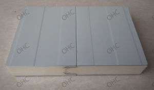 High Quality 40mm PU Sandwich Panel pictures & photos