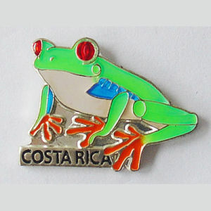 Custom Made Souvenir Pin in PRO Enamel (PN002)
