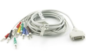 ECG Cables Compatible with Fukuda pictures & photos