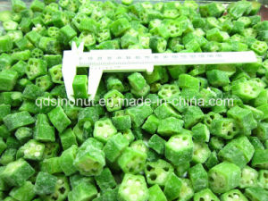 IQF Frozen Whole Okra Cut pictures & photos
