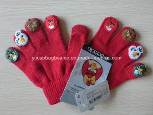 Children Lovely Magic Knit Glove pictures & photos