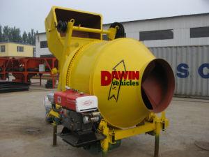 Hot Selling Small Mini Diesel Engine Drum Mobile 350L Concrete Mixer Cement Mixer pictures & photos