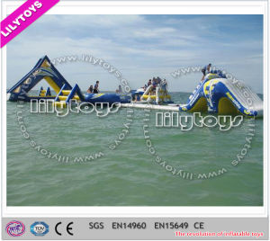 Commercial Floating Water Game, Giant Adult Water Park, Inflatable Water Toys (J-water park-107)