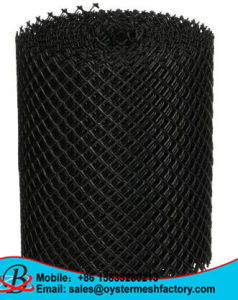 7X7mm Diamond Hole 100% HDPE Gutter Mesh for Leaf Guard