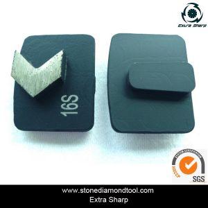 Redi Lock Diamond Segment Concrete Grinding Disc pictures & photos