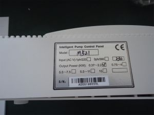 Single Phase Pump Control Panel of M521 pictures & photos