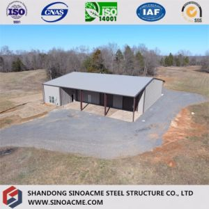Prefab Light Steel Structure Workshop Construction pictures & photos