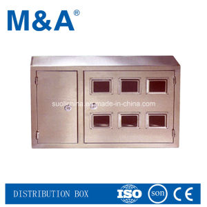 New Cheap Stainless Steel Waterproof Outdoor Electric Meter Box pictures & photos