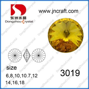 Dz-3019 Delicate Cuts Rivoli Crystal Fancy Stone in Bulk pictures & photos