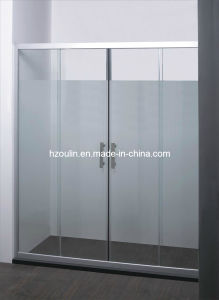 Chrome Aluminum Shower Door (SD-302) pictures & photos