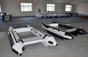 Liya New Style PVC Inflatable Boat Catamaran Passenger Boat pictures & photos